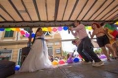 Гей-парад 2016 Genova Стоковая Фотография RF