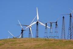 генераторы клетки управляемые распологают ветер Стоковое Изображение