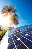Генератор энергии солнечной энергии для устойчивого и сбалансированного развития Стоковое Изображение