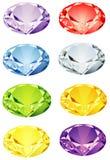 гениальные камни отрезока Стоковая Фотография RF