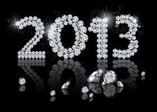 Гениальный Новый Год 2013 Стоковые Изображения