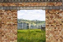 Геноцид в Butare, Tuanda стоковые фотографии rf