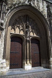 Гент, Бельгия строб в историческом здании Стоковое Изображение