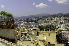 Генуя - панорама Стоковая Фотография