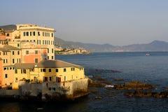 Генуя - Boccadasse Стоковые Фото
