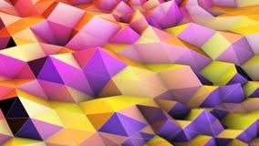 Географическая поверхность волны решетки видеоматериал