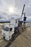 Геологохимическая машина оборудования Стоковая Фотография