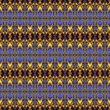 Геометрическая абстрактная безшовная картина Стоковая Фотография