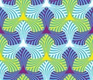 Геометрическая абстрактная безшовная предпосылка мотива картины Стоковая Фотография RF