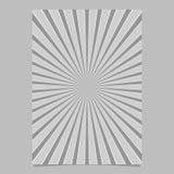 Геометрическая абстрактная звезда разрывала шаблон крышки - vector графический дизайн предпосылки страницы с радиальными лучами Стоковые Изображения