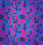 Геометрическая абстрактная картина плиток Стоковое Фото