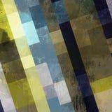 Геометрическая абстрактная картина Стоковые Изображения