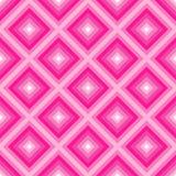 Геометрическая абстрактная предпосылка с формами диаманта как картина мозаики в ультрамодном пинке 2019 цветов пластиковом бесплатная иллюстрация