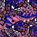 Геометрическая абстрактная предпосылка картины Стоковые Изображения RF