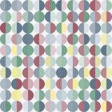 Геометрическая абстрактная предпосылка с кругами Стоковое фото RF