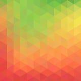 Геометрическая абстрактная предпосылка с треугольниками Стоковое Изображение RF