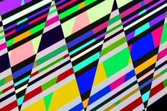 Геометрическая абстракция картины Стоковая Фотография RF