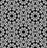 Геометрическая арабская безшовная картина Стоковое Фото