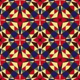 Геометрическая безшовная абстрактная картина Стоковые Изображения RF