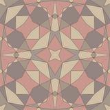Геометрическая безшовная абстрактная картина Стоковая Фотография