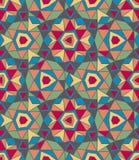 Геометрическая безшовная абстрактная картина Стоковые Изображения