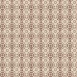 Геометрическая безшовная картина вектора в бежевых цветах Стоковая Фотография