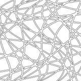 Геометрическая безшовная картина вектора Стоковая Фотография