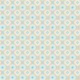 Геометрическая безшовная картина вектора Стоковое Фото