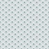Геометрическая безшовная картина волн Стоковая Фотография