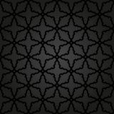 Геометрическая безшовная картина конспекта вектора Стоковое Фото