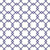 Геометрическая безшовная картина орнамента Предпосылка вектора Стоковое Изображение