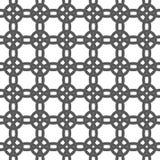 Геометрическая безшовная картина орнамента Предпосылка вектора Стоковые Фото