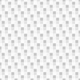 Геометрическая безшовная картина состоя из квадратных элементов аранжировала на белой предпосылке Стоковое Изображение