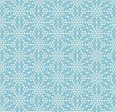 Геометрическая безшовная картина с линиями и кругами Стоковые Фото