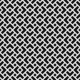 Геометрическая безшовная картина с перекрывая косоугольниками Стоковое Изображение