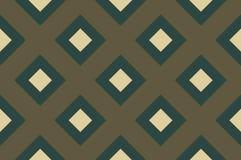 Геометрическая безшовная картина с пересекая линиями, решетками, клетками Предпосылка крис кросс в традиционном стиле плитки иллюстрация вектора