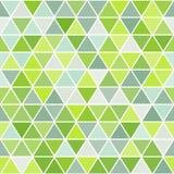 Геометрическая безшовная картина с треугольниками Стоковые Изображения RF