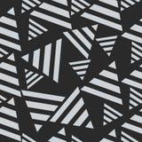 Геометрическая безшовная картина, треугольники Искусство концепции, иллюстрация Стоковое фото RF