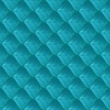 Геометрическая безшовная картина Холодные лист конспекта градиента цвета Повторение современной геометрической предпосылки решетк иллюстрация штока