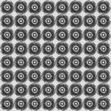 Геометрическая безшовная картина Стоковая Фотография