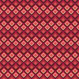 Геометрическая безшовная картина Стоковое Изображение RF