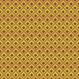 Геометрическая безшовная картина Стоковое Изображение