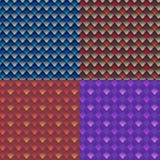 Геометрическая безшовная картина Стоковое фото RF