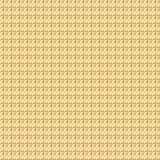 Геометрическая безшовная предпосылка, блестящая золотая картина Стоковая Фотография
