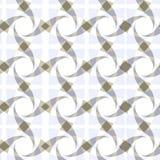 геометрическая безшовная прозрачная картина Стоковое Изображение