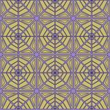 Геометрическая безшовная сеть картины Стоковое Фото