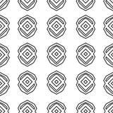 геометрическая безшовная текстура Яркая предпосылка, картина темы лета безшовная, обои вектора, текстура лета, оборачивая Стоковая Фотография