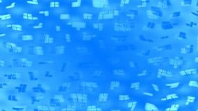 Геометрическая голубая предпосылка Стоковые Фотографии RF