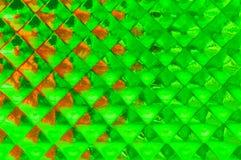 Геометрическая зеленая предпосылка Стоковые Фото