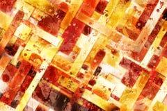 Геометрическая диагональ запирает абстрактную предпосылку - стиль Splatter Стоковая Фотография RF